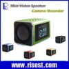 Multi-functional Mini Video Speaker MP3/MP4 Player With Night Vision Camera Function