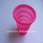 silicon rubber 100% Silicone and Harmless Silicone Collapsible Cup