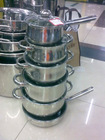 12 PCS SET STAINLESS STEEL KITCHEN POT SET