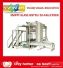 automatic empty glass bottle de-palletizing machine