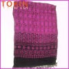 Long Style Viscose Scarf With Fashion Printed