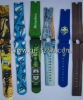 colour printing silicon watch bands
