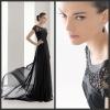 N097 Free shipping Real sample Kate Middleton princess 2012 red carpet formal dress