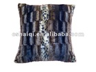 plush chair cushion faux fur cushion cover