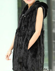 2012 new import mink whole sable male paragraph coat mink fur jacket