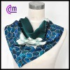 2013 newest custom printed square silk scarf