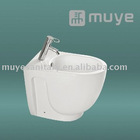 Wall Mounted White Combination Toilet Sanitary Bidet MY-4180