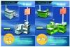 Supermarket cash desk,plastic cash desk,supermarket checkout counters and cash desks