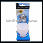 metal Toothbrush Holder with suction cups