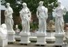 Four season marble statues