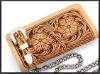 Superior Handmade Cowhide Leather Engraved Wallet