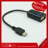 USB Host OTG Cable Micro USB to Female USB