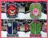 3D eva kids/children trolley bag