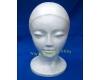 Styrofoam Model Head ~ Hat Wig Display Mannequin Foam