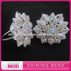 AB color rhinestone napkin ring for wedding decoration