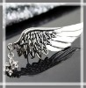2012 fashionable men and women jewelry angel wing brooch