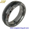 spinner tungsten ring men wedding bands