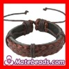 High Quality Fashion Mens Leather Bracelets
