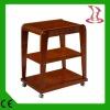 LX-M Top-grade solid wood beauty salon trolley