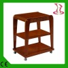 LX-M Top-grade solid wood beauty salon trolley