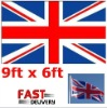 Union Jack Giant Large Flag 9 feet x 6 feet Great Britian GB England UK Flag