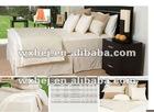 plain solid color 180 TC cotton comforter set bedding set