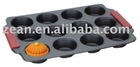 carbon steel non-stick coating 12 cup cake mould&bakeware