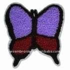 Animal-butterfly Embroidery chenille patch