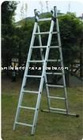High Quality Aluminium Extension ladder with GS TUV