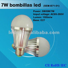 CE RoHS IEC approval Bombillas de led