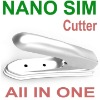 for iPhone 5 Nano Sim Cutter + Micro Sim Cutter = All in One Noosy Cutter