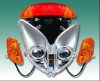 EEC homologated motorcycle lights for Yiben and Znen