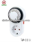 CE GS LISTED IP20 program timer switch/timer plug MECHANICAL TIMER