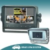 """7"""" Camera backup system with VGA monitor / touch screen&touch buttons"""