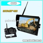 HOT- 7 inch 2.4GHz Digital Wireless Rear View System for bus/truck/vehicle