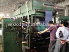 horizontal type roller printing machine