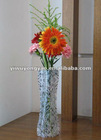 portable pvc flower bottle