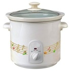Round Type Slow Cooker