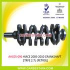 AUTO ENGINE PARTS(CRANKSHAFT) FOR TOYOTA HIACE'2005-2010 2TRFE 2.7L(PETROL)