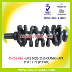 AUTO ENGINE PARTS(CRANKSHAFT) FOR TOYOTA HIACE'2005-2010 2TRFE 2.7L(PETROL)