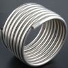 Stainless steel tube in coils