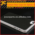 Carbon Fiber Case twill weave with white plastic