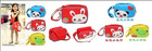 3styles /lot School bag/baby bag Children's backpacks cute Kids Backpack Schoolbag Satchel