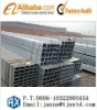 Galvanized square steel pipe Thickness:0.6mm--16mm