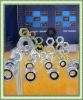 Hot Hex nuts: DIN934/555/6915, ISO4034, ASTM 2H, IFI D-6, A563
