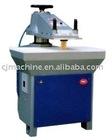 Hydraulic swing arm cutting press