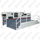 Paper Die cutting and Creasing Machine with stripping