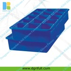15 cavity custom silicone ice cube tray
