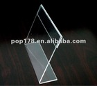 alibaba express Acrylic sign holder for counter display