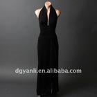 Best Selling Elegant Halter A-Line Floor Length Evening Dress 00544